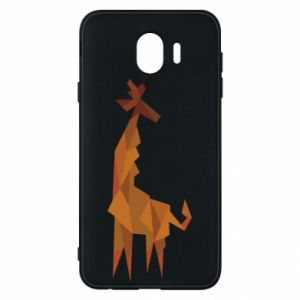 Phone case for Samsung J4 Giraffe abstraction - PrintSalon