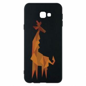 Phone case for Samsung J4 Plus 2018 Giraffe abstraction - PrintSalon