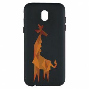 Phone case for Samsung J5 2017 Giraffe abstraction - PrintSalon