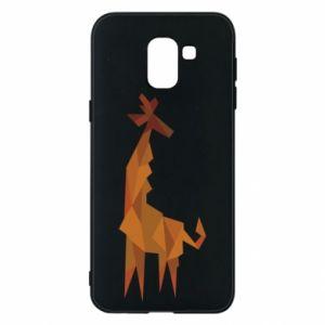 Phone case for Samsung J6 Giraffe abstraction - PrintSalon