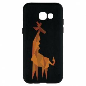 Phone case for Samsung A5 2017 Giraffe abstraction - PrintSalon
