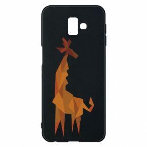 Phone case for Samsung J6 Plus 2018 Giraffe abstraction - PrintSalon