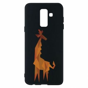 Phone case for Samsung A6+ 2018 Giraffe abstraction - PrintSalon