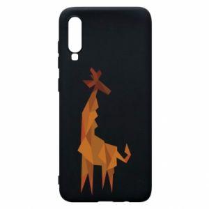 Phone case for Samsung A70 Giraffe abstraction - PrintSalon