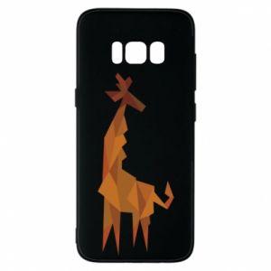 Phone case for Samsung S8 Giraffe abstraction - PrintSalon