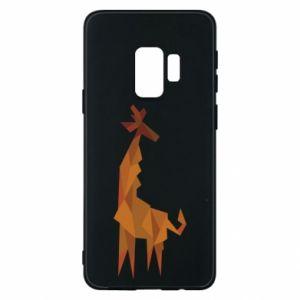 Phone case for Samsung S9 Giraffe abstraction - PrintSalon