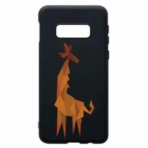 Phone case for Samsung S10e Giraffe abstraction - PrintSalon