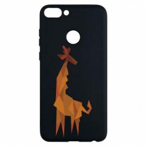 Phone case for Huawei P Smart Giraffe abstraction - PrintSalon
