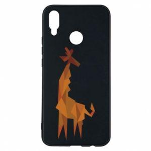 Phone case for Huawei P Smart Plus Giraffe abstraction - PrintSalon