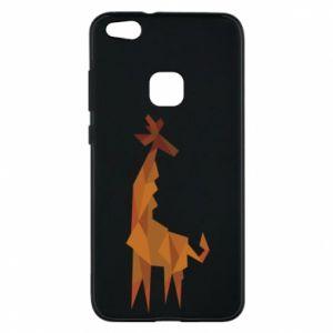 Phone case for Huawei P10 Lite Giraffe abstraction - PrintSalon