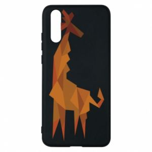 Phone case for Huawei P20 Giraffe abstraction - PrintSalon