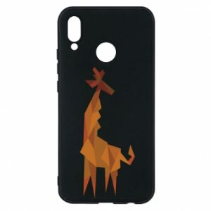 Phone case for Huawei P20 Lite Giraffe abstraction - PrintSalon