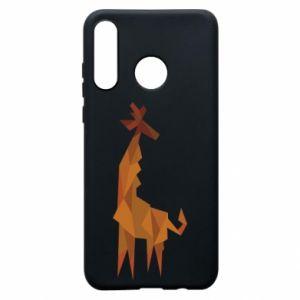 Etui na Huawei P30 Lite Giraffe abstraction