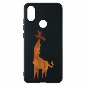 Phone case for Xiaomi Mi A2 Giraffe abstraction - PrintSalon