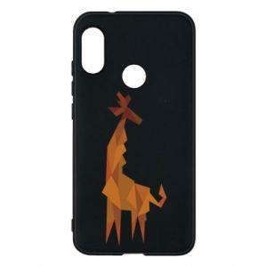 Phone case for Mi A2 Lite Giraffe abstraction - PrintSalon