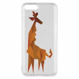 Phone case for Xiaomi Mi6 Giraffe abstraction - PrintSalon