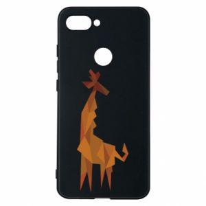 Phone case for Xiaomi Mi8 Lite Giraffe abstraction - PrintSalon