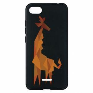 Phone case for Xiaomi Redmi 6A Giraffe abstraction - PrintSalon
