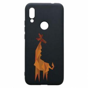 Phone case for Xiaomi Redmi 7 Giraffe abstraction - PrintSalon