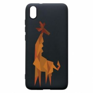 Etui na Xiaomi Redmi 7A Giraffe abstraction