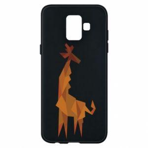 Phone case for Samsung A6 2018 Giraffe abstraction - PrintSalon