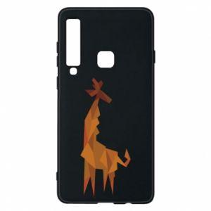 Phone case for Samsung A9 2018 Giraffe abstraction - PrintSalon