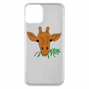 Phone case for iPhone 11 Giraffe with a branch