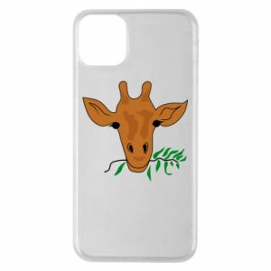 Phone case for iPhone 11 Pro Max Giraffe with a branch