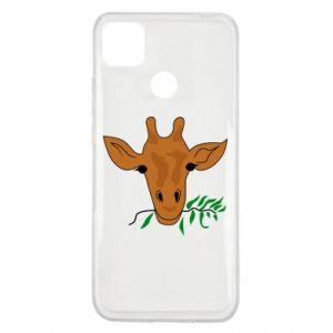 Etui na Xiaomi Redmi 9c Giraffe with a branch