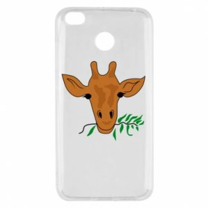 Xiaomi Redmi 4X Case Giraffe with a branch