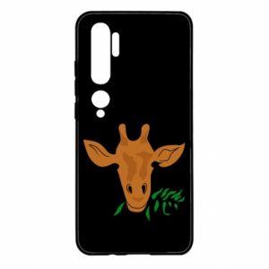 Etui na Xiaomi Mi Note 10 Giraffe with a branch