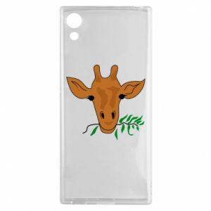 Etui na Sony Xperia XA1 Giraffe with a branch