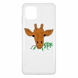 Etui na Samsung Note 10 Lite Giraffe with a branch