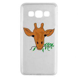 Etui na Samsung A3 2015 Giraffe with a branch