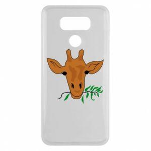 Etui na LG G6 Giraffe with a branch