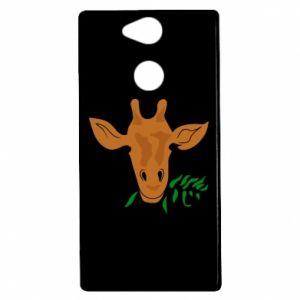 Etui na Sony Xperia XA2 Giraffe with a branch