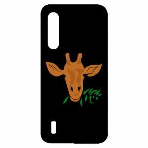 Etui na Xiaomi Mi9 Lite Giraffe with a branch