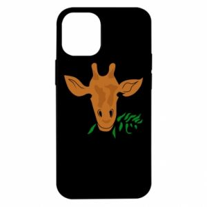 Etui na iPhone 12 Mini Giraffe with a branch
