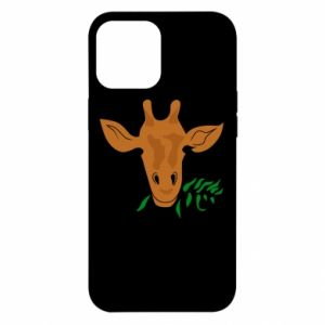 Etui na iPhone 12 Pro Max Giraffe with a branch