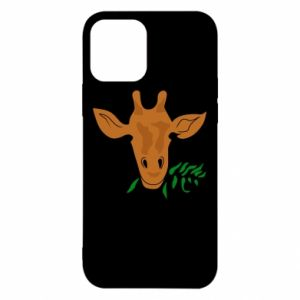 Etui na iPhone 12/12 Pro Giraffe with a branch