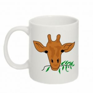 Mug 330ml Giraffe with a branch