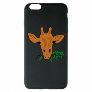 Phone case for iPhone 6 Plus/6S Plus Giraffe with a branch