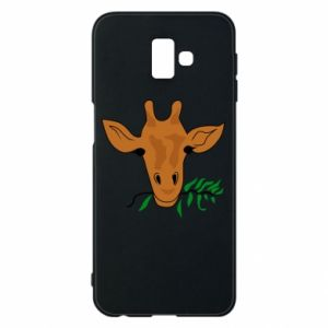 Etui na Samsung J6 Plus 2018 Giraffe with a branch