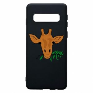 Phone case for Samsung S10 Giraffe with a branch