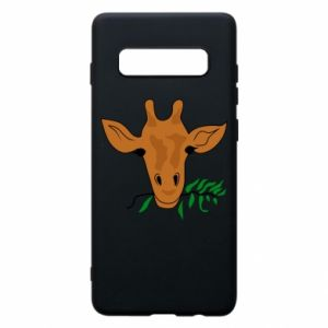 Phone case for Samsung S10+ Giraffe with a branch