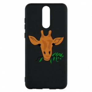 Phone case for Huawei Mate 10 Lite Giraffe with a branch