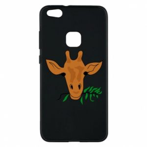 Phone case for Huawei P10 Lite Giraffe with a branch
