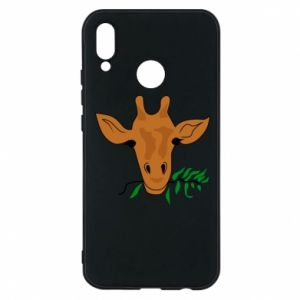 Phone case for Huawei P20 Lite Giraffe with a branch