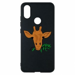 Phone case for Xiaomi Mi A2 Giraffe with a branch