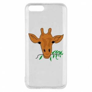 Phone case for Xiaomi Mi6 Giraffe with a branch